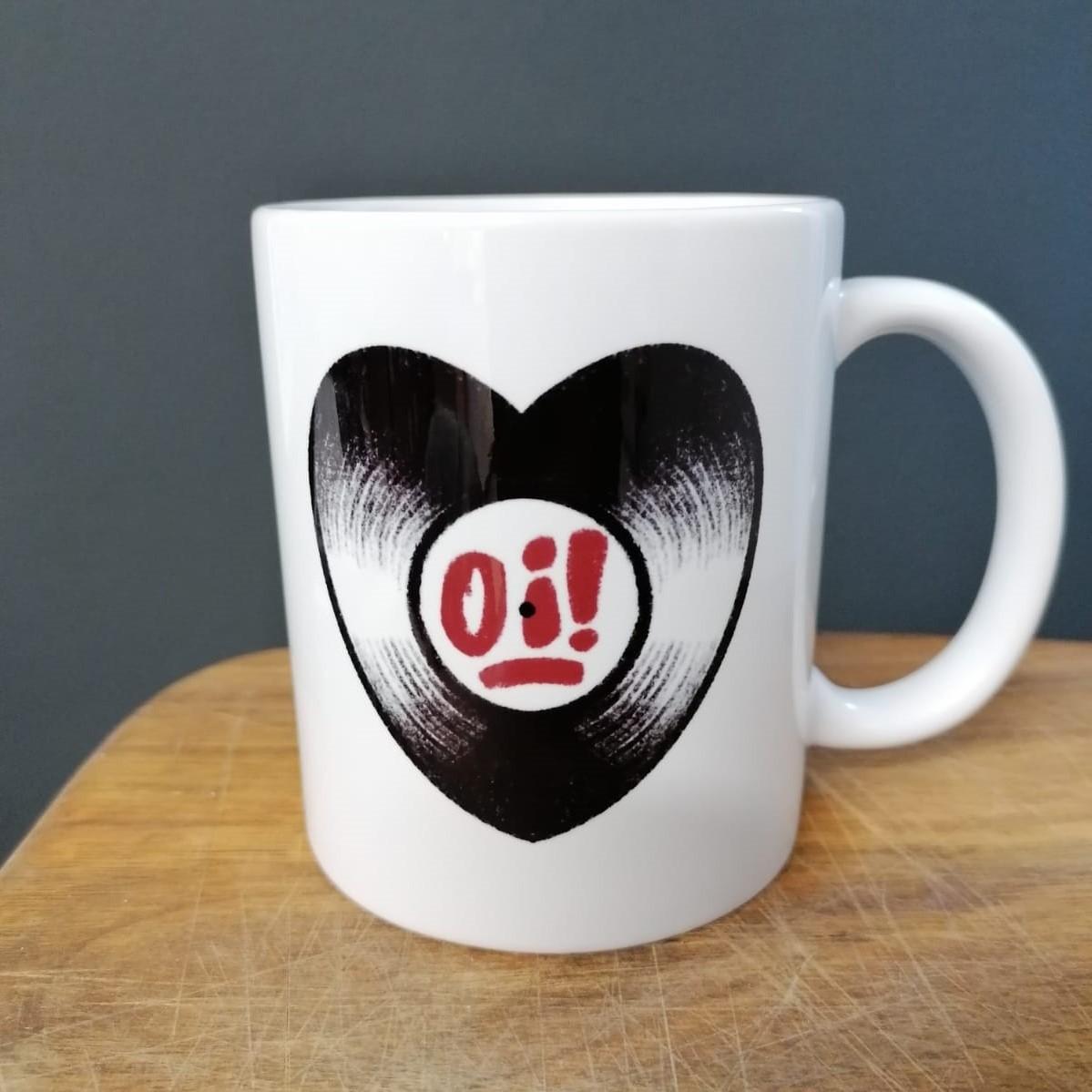 """Vinyl love affair - """"Oi!"""" - Tasse/Mug"""