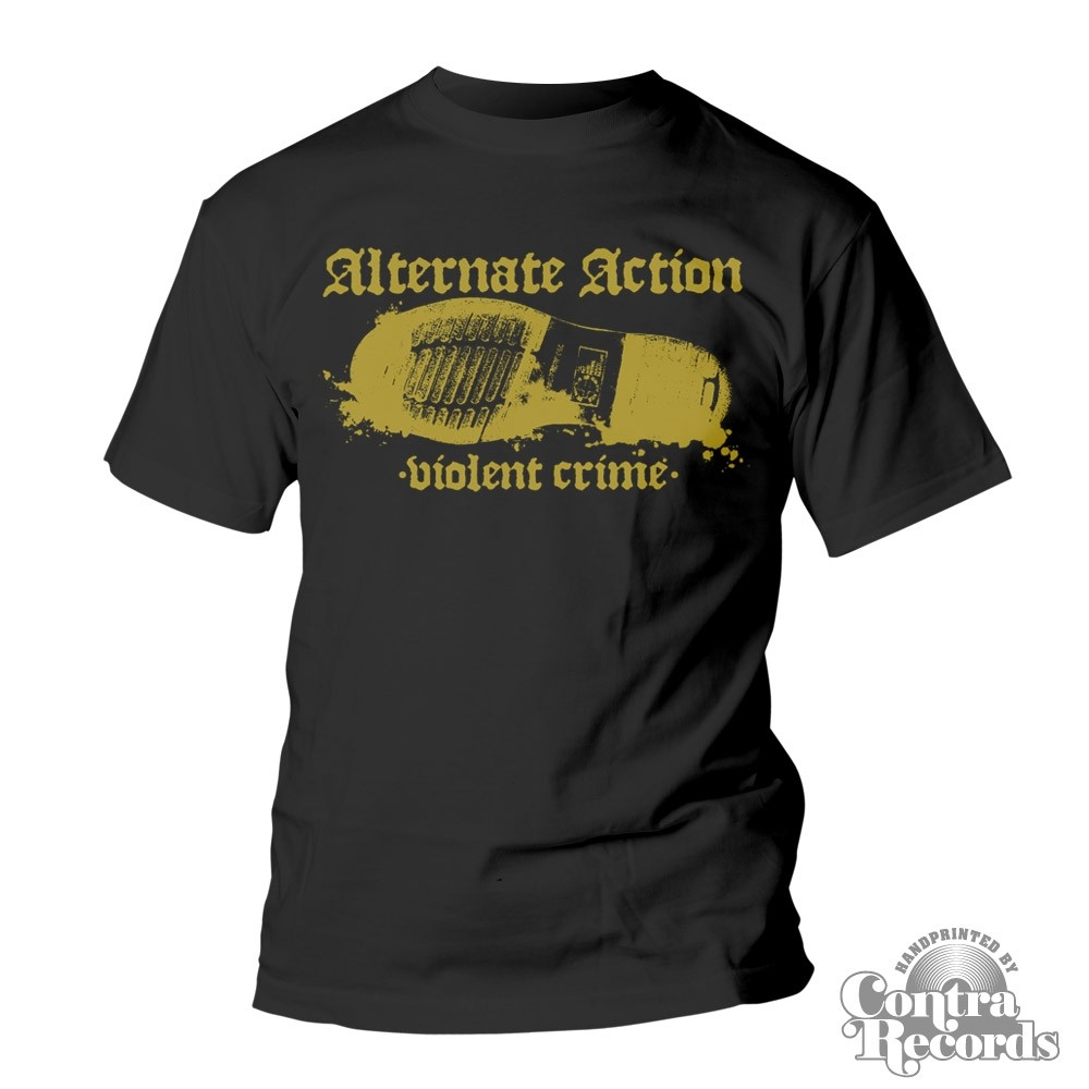 "Alternate Action - ""Violent Crimes"" - T-Shirt black"
