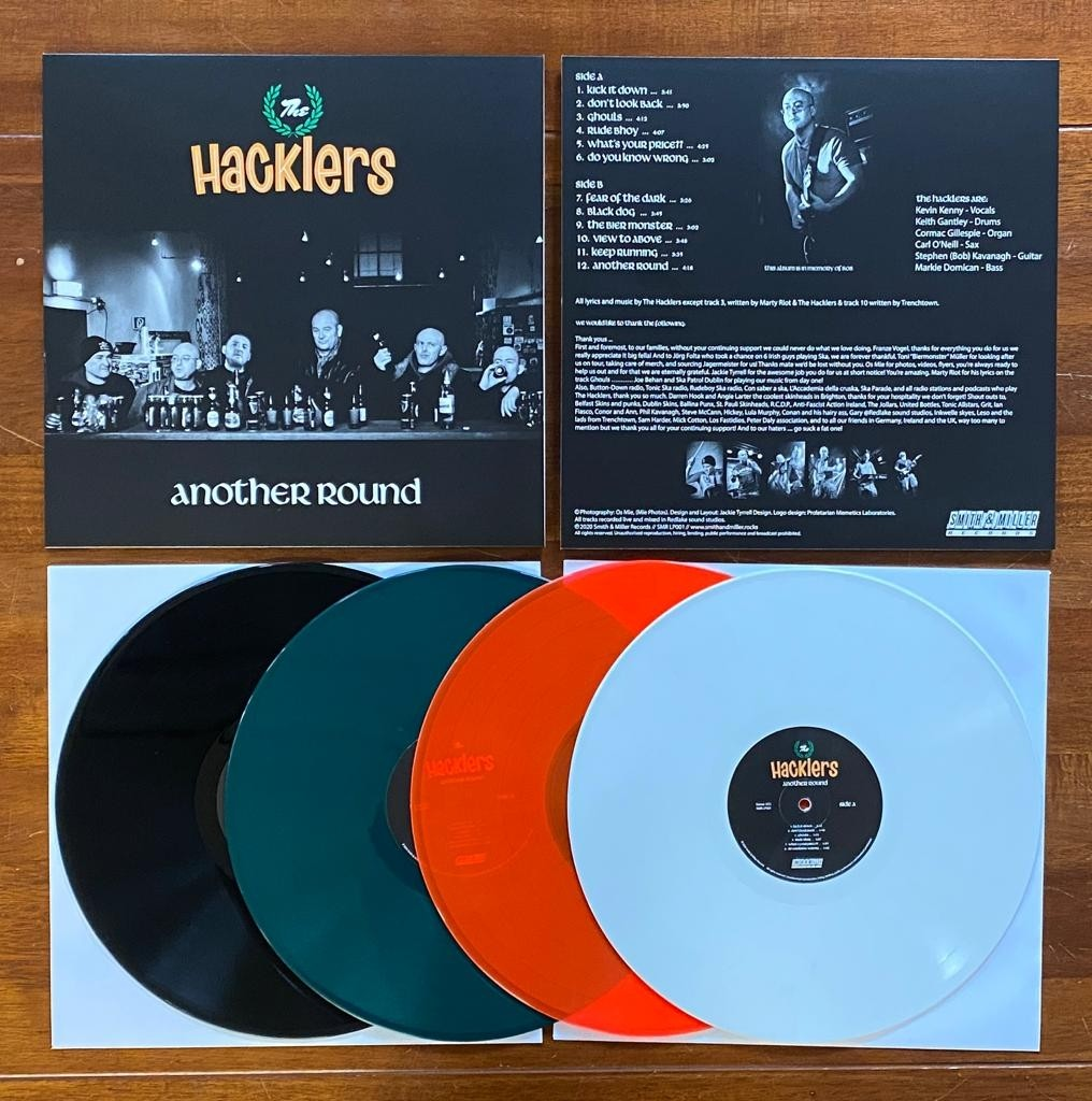 """Hacklers,The - Another Round 12""""LP #package deal 4x12""""Vinyl"""