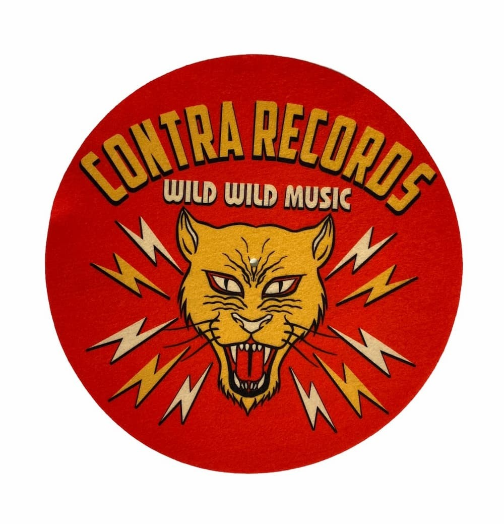 "Contra Records - Wild Wild Music - 12"" Slipmat"