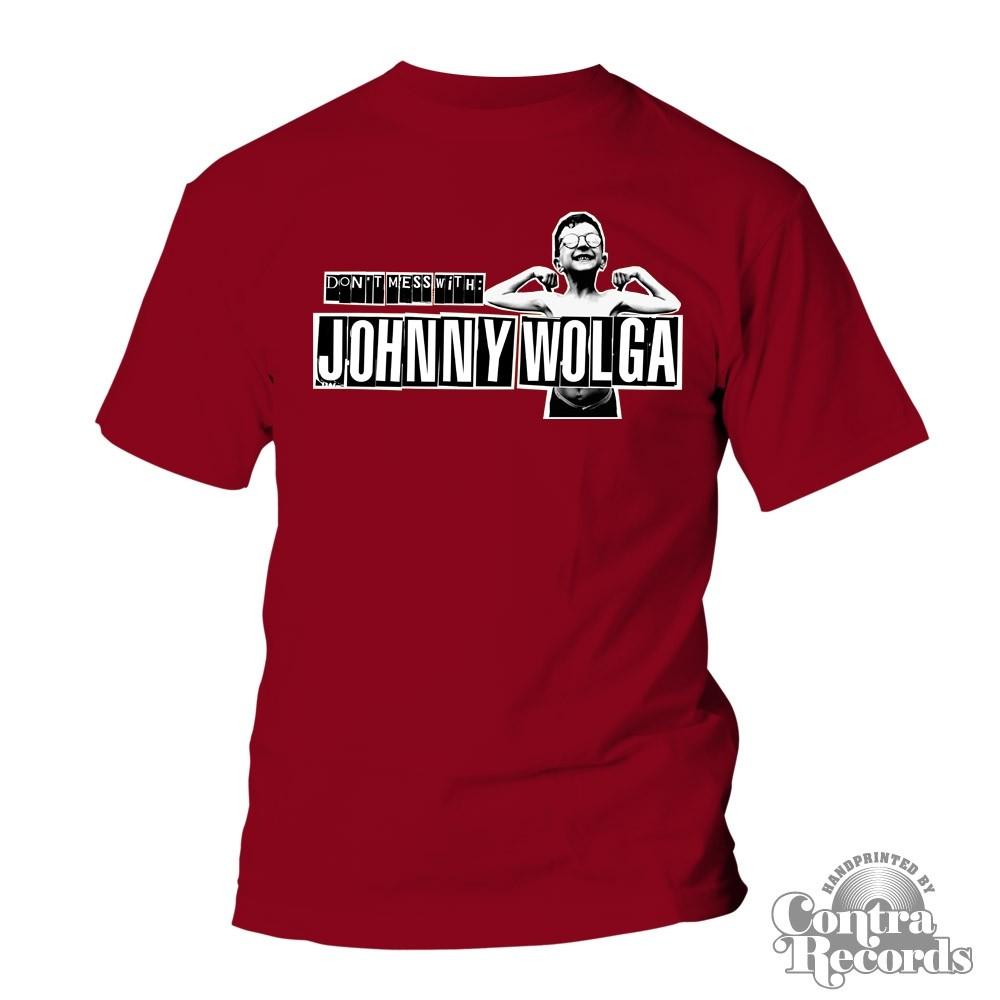 Johnny Wolga - Logo T-Shirt cardinal red