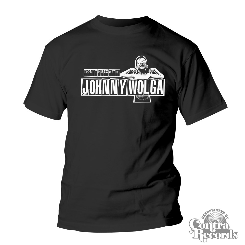 Johnny Wolga - Logo T-Shirt black
