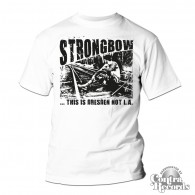 Strongbow - This is Dresden not L.A. white - T-Shirt