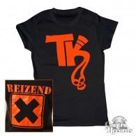 Telekoma - Reizend - Girl Shirt black front/backprint