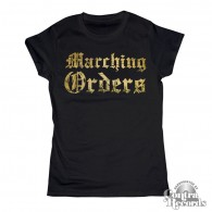 Marching Orders gold - Girl Shirt