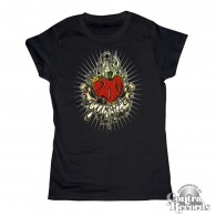 Gumbles - infected heart - Girl Shirt - XS (last size)