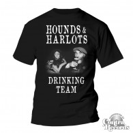 Hounds and Harlots - Drinking Team - T-Shirt (last sizes!!)