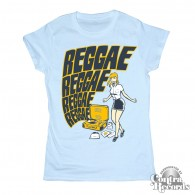 Reggae Reggae - Girl Shirt - sky blue