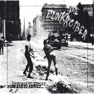 Punkroiber, Die - Prepare to Revolt LP (2nd Press, lim. 127) screenprinted Cover