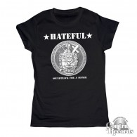 Hateful - Soundtrack for a Sinner - Girl Shirt black