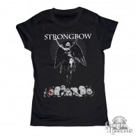 Strongbow - Bloody Angel - Girl Shirt black