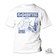 45 Adapters - Patriots Not Fools - T-Shirt white (last sizes!)