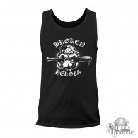 Broken Heroes - Men Tank Top black