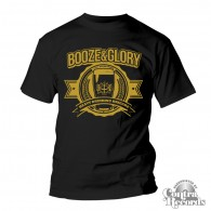BOOZE & GLORY - Heavy Drinking Brigade - T-Shirt black