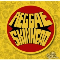 Reggae Skinheads Yellow-Button 25mm