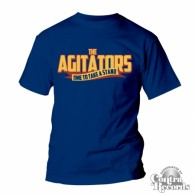 AGITATORS, THE - TIME TO TAKE A STAND - T-Shirt blue-S (Last size!)