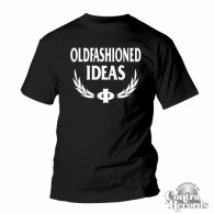 Oldfashioned Ideas - T-Shirt - classic black