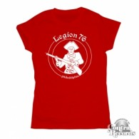 Legion 76 -soldier- Girl Shirt Red