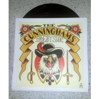"Cunninghams, the - Side by Side 7""EP (lim.140, black Vinyl)"