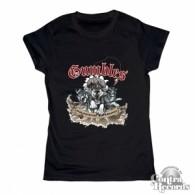 GUMBLES-Schlittenhunde & Kojoten - Girl Shirt Black