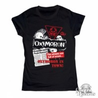 Oxymoron - Oxymoron in Town! -Girl Shirt black