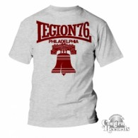 Legion 76 - Bell - T-Shirt Men Grey