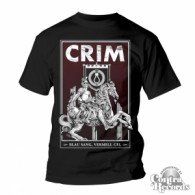 "CRIM - ""BLAU SANG, VERMELL CEL"" - T-Shirt  Men Black"