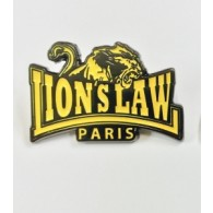 Metall-Pin - Lion`s Law -  Yellow