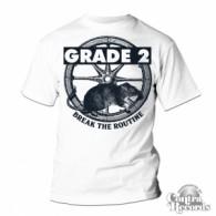 Grade 2 - Break The Routine T-Shirt White