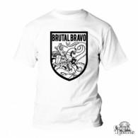 Brutal Bravo - T-Shirt White