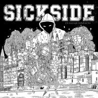 """SICKSIDE -""""En Salvaje Conflicto"""" 12""""LP lim. neon yellow"""