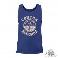 "Contra Records ""Anchor Punkrock""  Men Tanktop navy blue"
