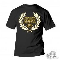 "Frontline Streetwear -""Antisocial"" T-Shirt black"