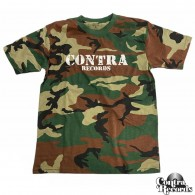 "Contra Records - ""Army"" - T-Shirt camo"