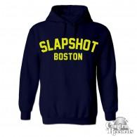 "Slapshot - ""Boston"" Hoody dark navy blue"
