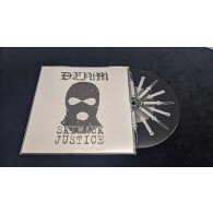 "Denim - Skimask Justice Demo 7""EP with printed B-side lim.157 black"