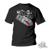 """Midnight Tattoo """"Bomb"""" T-Shirt black"""