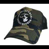 Bonecrusher - Trucker Cap woodland camo