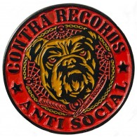 "Contra Records ""Antisocial Bulldog"" - Metal-Pin"