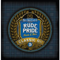 "Rude Pride - s/t 7""EP lim. 250 half´n half orange/white"