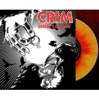 "CRIM - Sense excuses 7""EP lim. piss yellow/red spl. (excl. on Contra Records)"