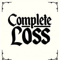 "Complete Loss - Demo 7""EP lim. 190 black on white screenprinted Cover"