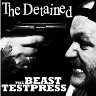 """DETAINED,THE -the beast - 12""""LP Testpress lim. Screenprinted Cover"""