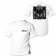 "Lion's Law - ""The Pain,The Blood.."" The T-Shirt white front/backprint"
