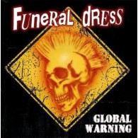 "FUNERAL DRESS "" Global Warning"" 12""LP lim.250 half n half"