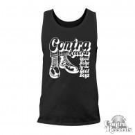 Contra Records - Bootboys Men Tanktop black/white