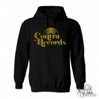 Contra Records - Vinyl Hoody navy blue & yellow 15Years of Contra Edt.