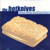 "Hotknives - Screams, Dreams & Custard Creams 12""LP ltd. blue vinyl"