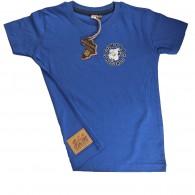 "Contra Kids Wear - ""Bulldog 2004"" - Kids Shirt blue"