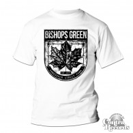 "Bishops Green - ""Leaf"" - T-Shirt white"